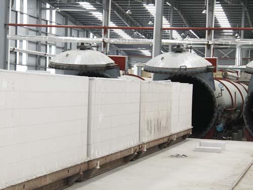 Dây chuyền sản xuất gạch Block bê tông khí chưng áp