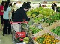 Giá thực phẩm giảm