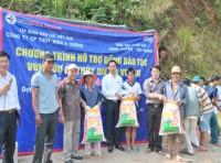 Tái định cư Thủy điện A Vương: Hỗ trợ gạo đợt 2 cho đồng bào