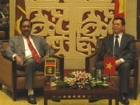 Tăng cường hợp tác về dầu khí giữa Việt Nam và Xri Lan-ca
