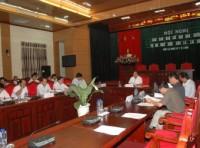 Phó Thủ Tướng Hoàng Trung Hải kiểm tra tiến độ xây dựng thủy điện Sơn La