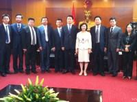 Thứ trưởng Hồ Thị Kim Thoa tiếp Phó Tỉnh trưởng tỉnh Tứ Xuyên Trung Quốc