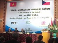Việt Nam- Cộng hòa Séc: tăng cường hợp tác kinh tế