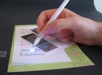 Bút vẽ ra mạch điện trên giấy