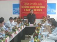 Phó Thủ tướng Hoàng Trung Hải thăm dự án Nhà máy đạm Ninh Bình
