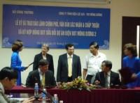 Ký hợp đồng BOT dự án nhà máy nhiệt điện than Mông Dương 2