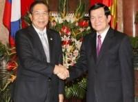 Phát triển quan hệ hợp tác toàn diện Việt Nam-Lào