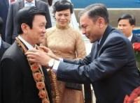 Chủ tịch nước gặp đại diện các doanh nghiệp Ấn Độ
