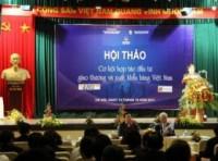 Doanh nhân kiều bào góp sức đưa hàng Việt vươn xa