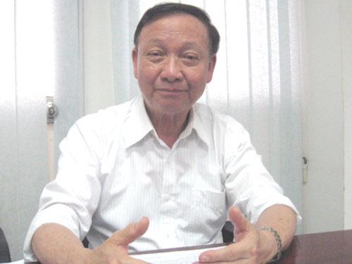 Ông Phạm Chí Cường- Chủ tịch Hội Khoa học Kỹ thuật Đúc luyện kim Việt Nam.