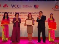 Ngân hàng duy nhất ở Việt Nam được trao giải thưởng ASEAN-ABA 2010