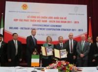 Ireland hỗ trợ 55 triệu Euro giúp Việt Nam giảm nghèo và tăng trưởng kinh tế