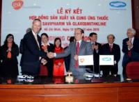 GSK và SVP ký kết hợp đồng sản xuất và cung ứng thuốc tại Việt Nam