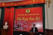 Công đoàn Công Thương Việt Nam gặp mặt đầu năm