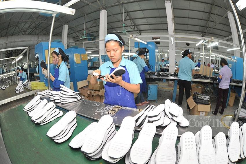 xuất khẩu da giày quý I/2021 tăng 10%