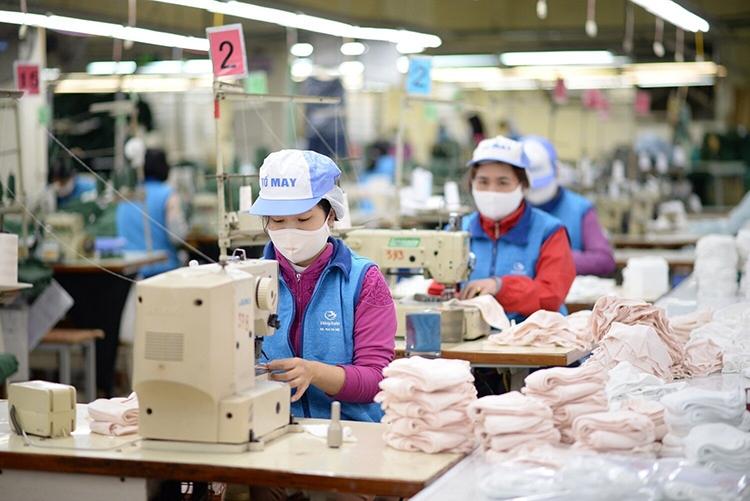 xuất khẩu dệt may quý II nhiều cửa sáng