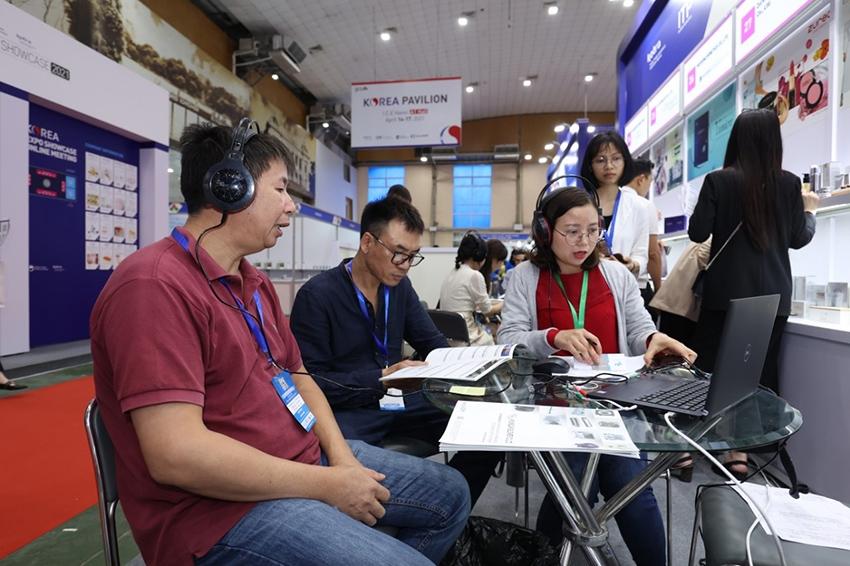 Hơn 18 đoàn doanh nghiệp Việt Nam - Hàn Quốc được kết nối giao thương trực tuyến