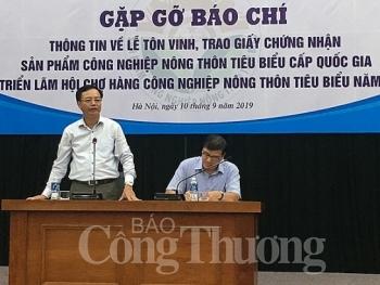 binh chon san pham cnnt tieu bieu cap quoc gia nam 2019 dam bao minh bach cong bang cho cac nhom san pham