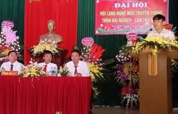 dai hoi lan thu i hoi lang nghe moc truyen thong thon dai nghiep