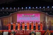 Khai mạc Hội chợ Công nghiệp- thương mại đồng bằng sông Hồng- Hà Nam 2017
