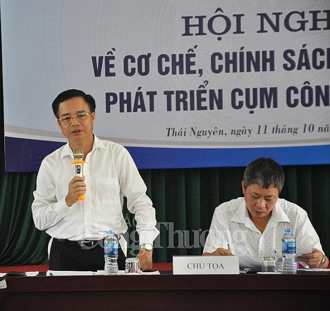 bo cong thuong dieu chinh chinh sach quan ly phat trien cum cong nghiep