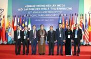 Hòa bình, an ninh quốc tế là điều kiện tiên quyết cho hợp tác và phát triển kinh tế