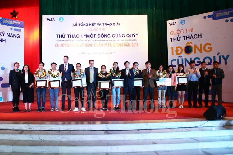 Tìm ra thí sinh thắng cuộc Chương trình Kỹ năng quản lý tài chính năm 2017