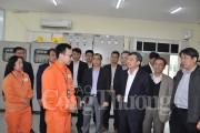 Thứ trưởng Hoàng Quốc Vượng kiểm tra tình hình cung cấp điện Tết Nguyên đán 2017