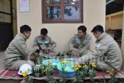 Tết của những người lính truyền tải Hà Nội