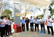 EVN khánh thành và gắn biển công trình Trường tiểu học Nguyễn Trung Trực