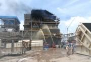 Sự cố cháy tại Nhiệt điện Duyên Hải 3 MR đã được khống chế