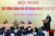 Sắp diễn ra Hội nghị Thủ tướng với doanh nghiệp