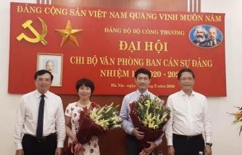 chi bo van phong ban can su dang bo cong thuong to chuc thanh cong dai hoi chi bo lan thu nhat nhiem ky 2020 2022