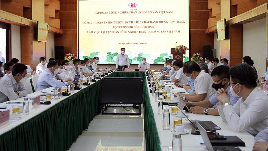 Bộ Công Thương sẽ đồng hành cùng TKV vì sự nghiệp của ngành