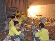 Công nhân thủy điện Lai Châu qua ảnh