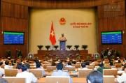 Quốc hội biểu quyết thông qua Luật Quản lý Ngoại thương