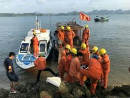 Đang khắc phục sự cố cáp ngầm 22kV cấp điện cho Cô Tô