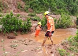 Ngành điện tập trung khắc phục mưa lũ tại Hà Giang - Lai Châu