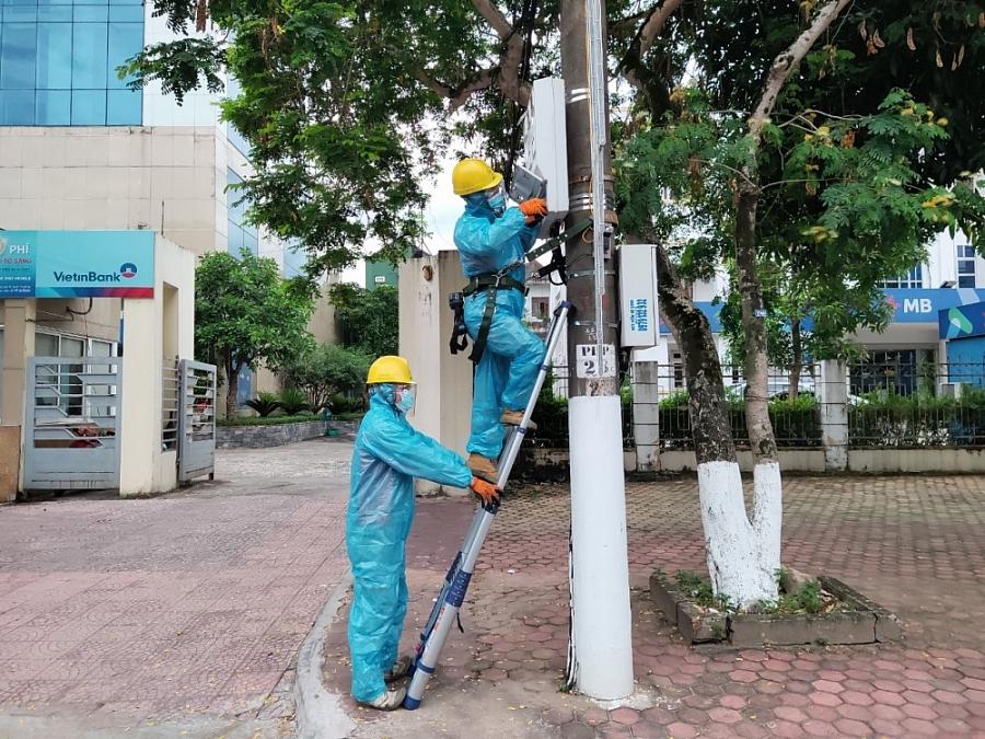 Điện lực Tp. Hà Tĩnh: Chuẩn bị phương án cấp điện cho cách ly toàn thành phố