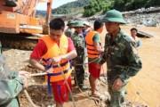 Thủy điện Sông Bung 2: Tiếp tục tìm kiếm người bị nạn, hỗ trợ gia đình bị thiệt hại