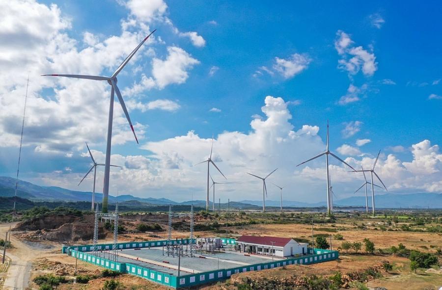 TrungNam Group hoàn thành vận hành thương mại toàn bộ Dự án điện gió số 5 –Ninh Thuận