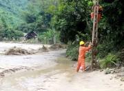 EVN tập trung toàn bộ nhân lực cấp điện cho người dân vùng lũ
