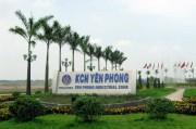 Đầu tư 2.908 tỷ đồng mở rộng KCN Yên Phong