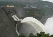 19h30 ngày 24/11/2016, Thủy điện Sông Tranh 2 xả nước qua tràn