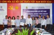 Công đoàn Điện lực Việt Nam: Nhiều hoạt động, thăm hỏi khắc phục sau bão số 12