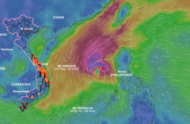 Bộ Công Thương: Theo dõi, chỉ đạo sát sao tình hình hồ chứa thuỷ điện ứng phó với bão VAMCO