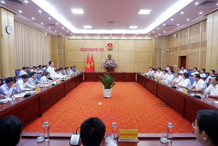 Tổng Công ty Điện lực miền Bắc sẽ nỗ lực phát triển hạ tầng lưới điện tại Nghệ An lên tầm cao mới