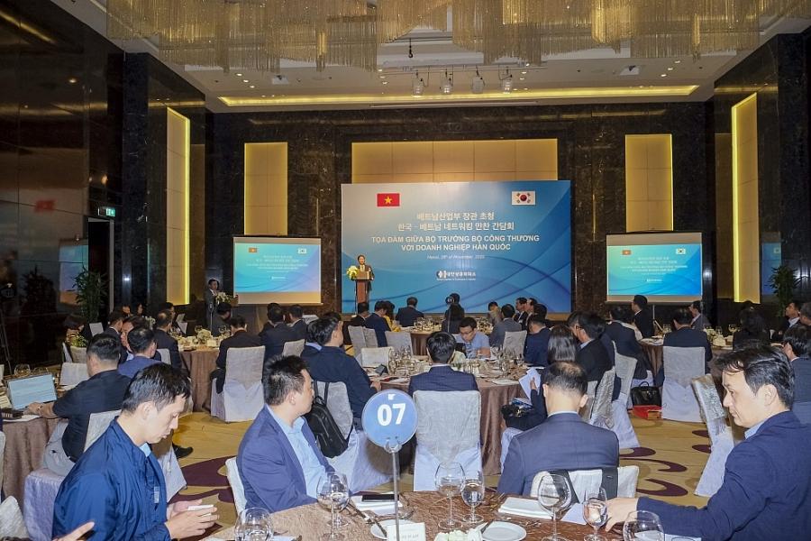 Bộ trưởng Bộ Công Thương Trần Tuấn Anh: Luôn ủng hộ và tạo thuận lợi cho các nhà đầu tư Hàn Quốc