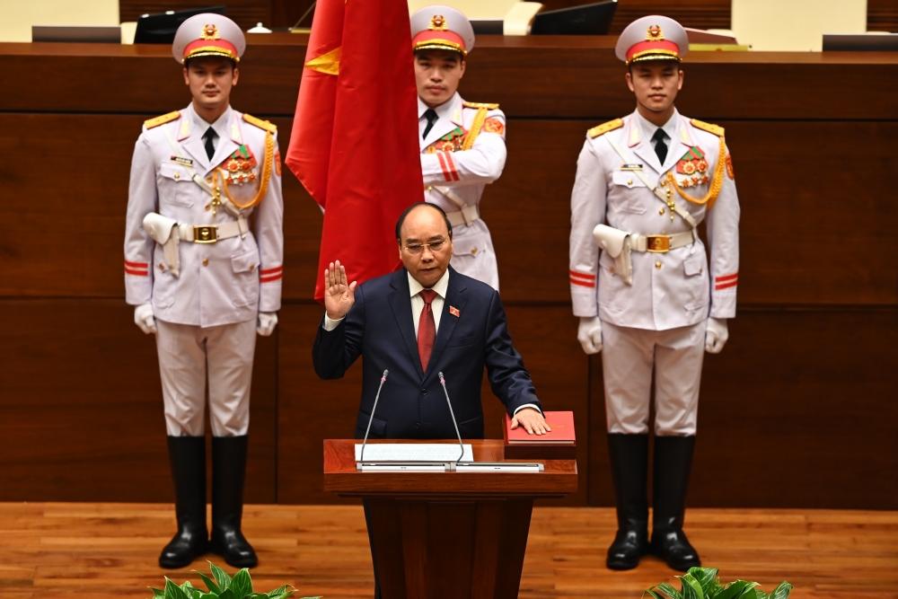 Tân Chủ tịch nước Nguyễn Xuân Phúc:
