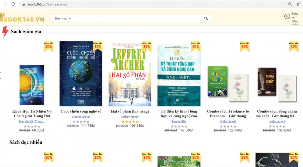 Hội sách trực tuyến: Hàng chục ngàn bản sách được trợ giá tới 90% vào 2 ngày cuối cùng